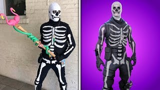 BEST Fortnite Halloween Costumes IN REAL LIFE!