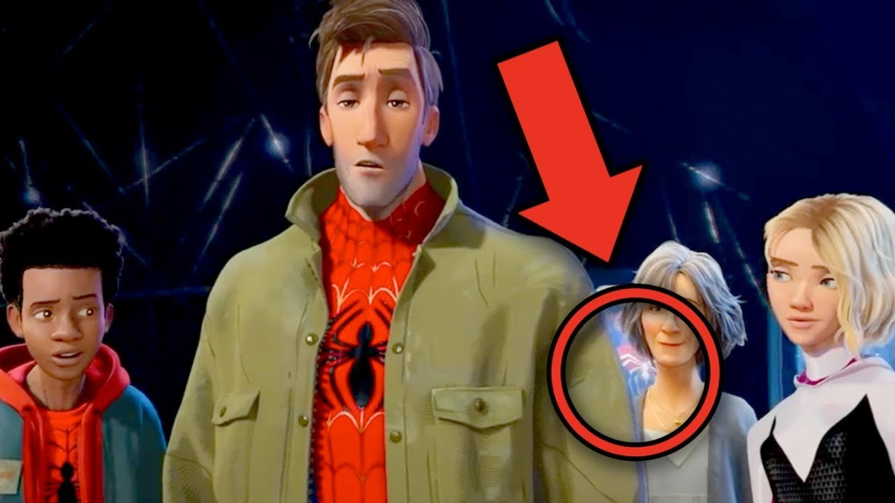 65307e0a8d638 Spider-Man INTO THE SPIDER-VERSE Trailer Breakdown! Easter Eggs   Details  You Missed!