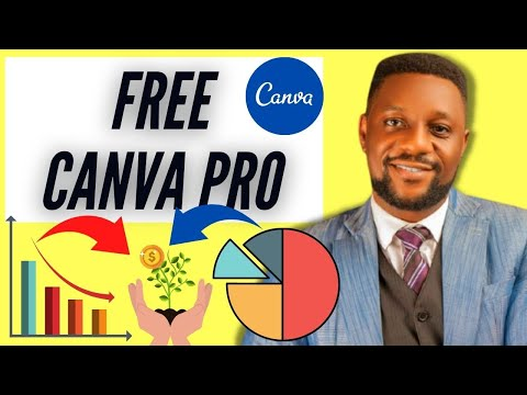 (free Canva Pro) Canva Complete Tutorial 2021   How to use Canva for Beginners