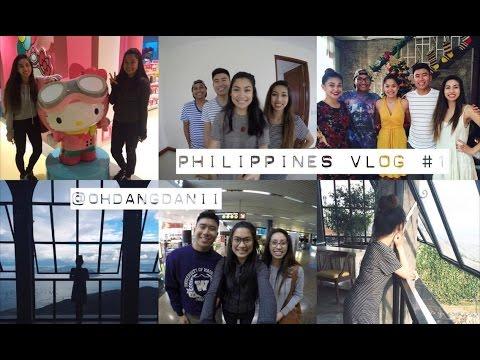 Philippines Vlog #1 - Travel & Tagaytay! // @ohdangdanii ...