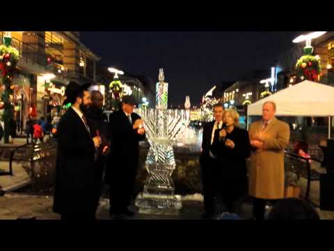 Menorah Lighting at Ridge Hill