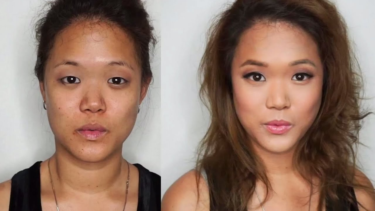 How To Put Makeup On Monolids Contour An Oval Face