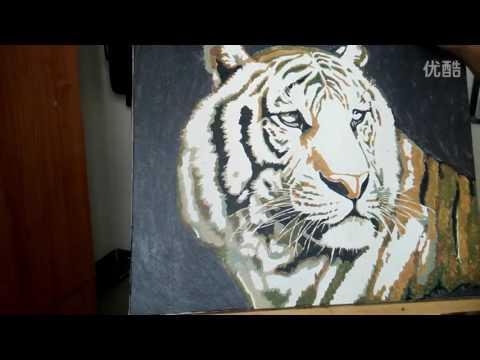 Цифровая живопись - картина по номерам
