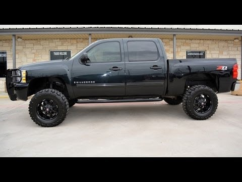 2009 chevrolet silverado 1500 lt1 crew cab lifted 4wd youtube. Black Bedroom Furniture Sets. Home Design Ideas