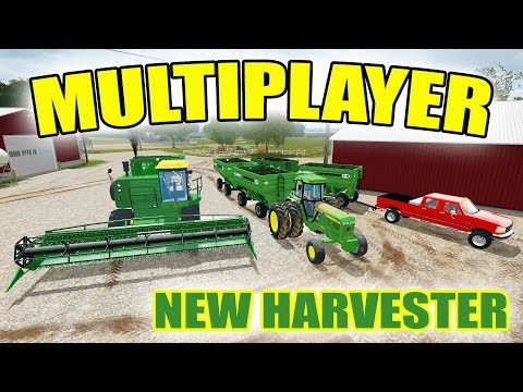 FARMING SIMULATOR 2017 | MULTIPLAYER SERVER GETTING STARTED | ALL JOHN DEERE | EP #9