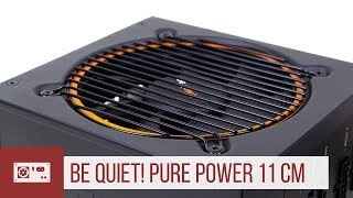 be quiet! Pure Power 11: Netzteil mit 80 Plus Gold und modularem Kabelmanagement (Werbung)