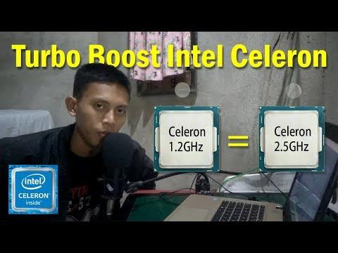 Mengakifkan Turbo Boost Processor Intel Celeron