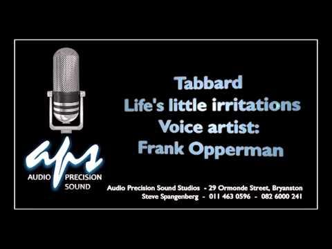 Tabbard Life's little irritation with Frank Opperman