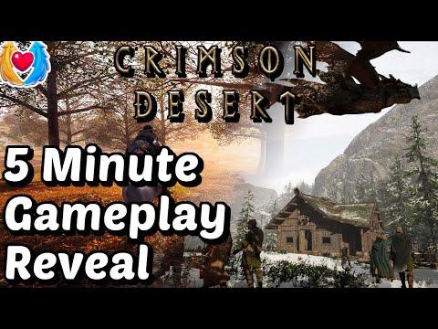 Crimson Desert - Is It An MMORPG? Gameplay Revealed - 2020