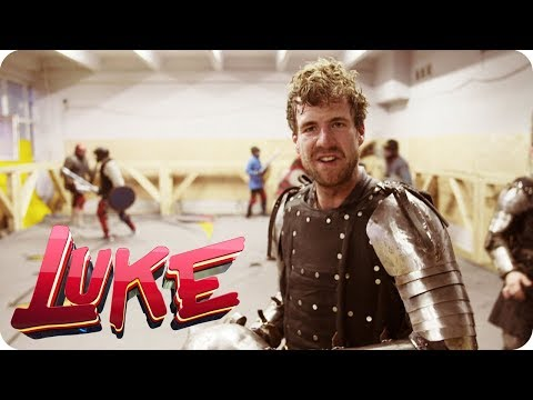 Sir Luke-a-lot beim Rittersport - LUKE! Die Woche und ich