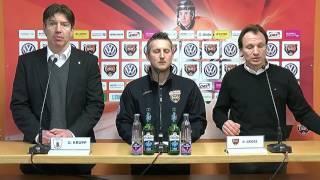 45. Spieltag | Pressekonferenz Grizzlys vs. Eisbären Berlin