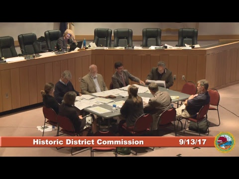 Historic District Commission 9.13.17