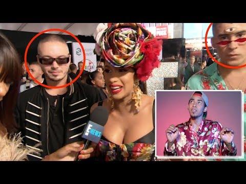 ¡Increíble!J Balvin y Bad Bunny fueron ignorados en una entrevista en losAmerican Music Awards 2018