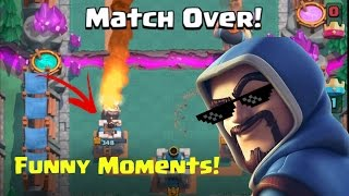 Clash Royale FUNNY MOMENTS, fails & wins! EP #4 200 SUBSCRIBERS SPECIAL!!