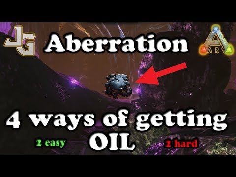 ARK - 4 ways of getting OIL - Aberration - Finding oil - Guide