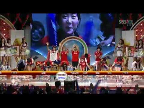 T-ara - Oh Pilsung Korea + We Are The One @ SBS Shout of Victory
