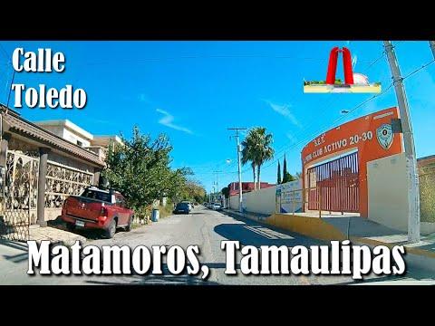 Calle Toledo, Matamoros, Tamaulipas