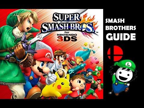 Previa de la guía japonesa de Super Smash Bros. 3DS