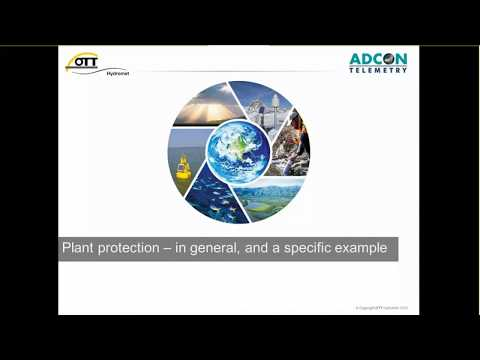 ADCON Webinar: Plant Protection with Smart Agriculture Meteorology