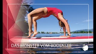 Das Monster vom Bodensee || Standup Paddling Yoga