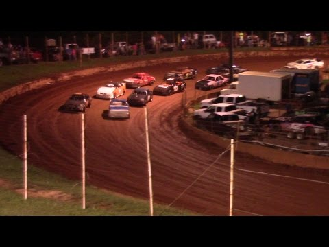 Winder Barrow Speedway Stock Four Cylinder Feature Race 8/22/15
