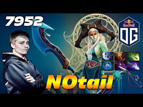 N0tail Naga Siren Core - 7952 MMR - Dota 2...