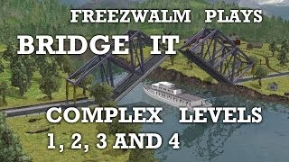 Bridge It: COMPLEX levels 1, 2, 3 and 4