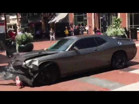 Democrat CRASHES into Alt-Right Protesters in Charlottesville