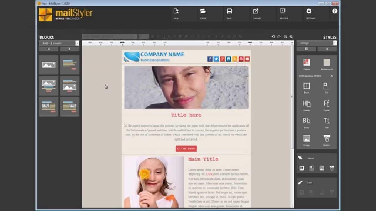 maxresdefault MailStyler Newsletter Creator Habercilik Programını Full İndir