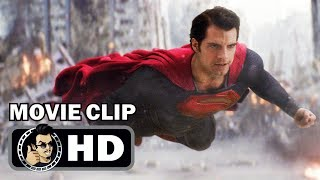 MAN OF STEEL Clips + Trailer (2013) Henry Cavill