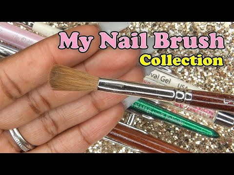 Acrylic Nails Tutorial - Acrylic Nails for Beginners - Acrylic Nail Brushes - Nail Brush Collection