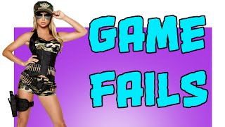 Funny game fails compilation / Смешная подборка приколов из игр