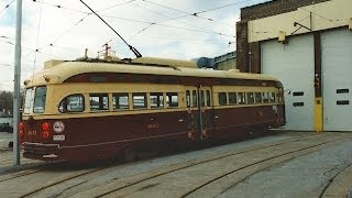 Final Toronto TTC PCC Streetcar Run December 8 1995 Toronto Transit Commission