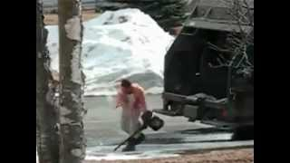 Garbage Man Goes Insane!