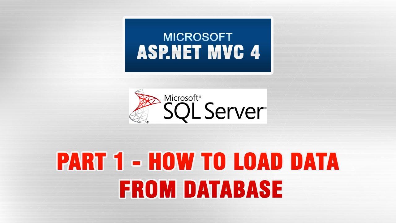 Asp. Net mvc 4 database tutorial in urdu entity framework and.