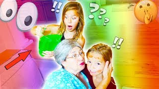 SLIME PRANK ON GROUCHY GRANNY!!