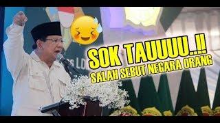 Prabowo Salah Sebut Letak Negara Saat Pidato, Timsesnya Tepok Jidat!