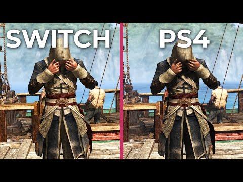 Assassin S Creed 4 Black Flag Switch Vs Ps4 Graphics Comparison
