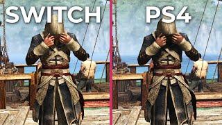 Assassin's Creed 4 Black Flag – SWITCH vs. PS4 Graphics Comparison