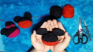 Cara Merajut Boneka Mickey Part 1