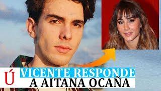 Vicente Responde A Aitana Por Primera Vez Tras Su Ruptura, Coincidiendo Con El Fin Aitana Y Cepeda