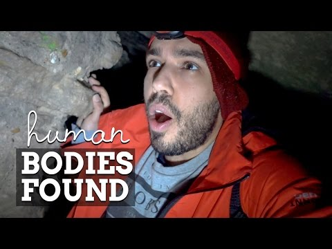 PARIS CATACOMBS - Found Living And Dead Humans Underground
