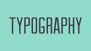 Beginning Graphic Design: Typography