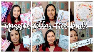I am Back with a MASSIVE DOLLAR TREE HAUL! New Dollar Tree finds!