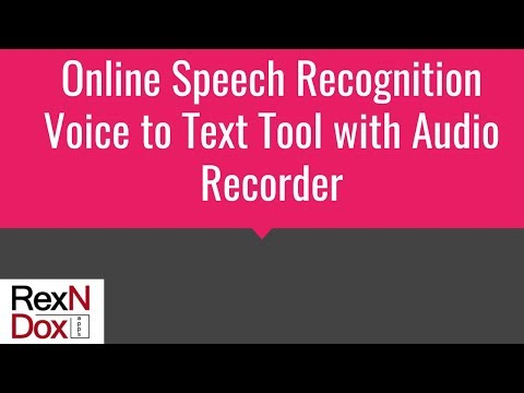 Voice To Text Recorder