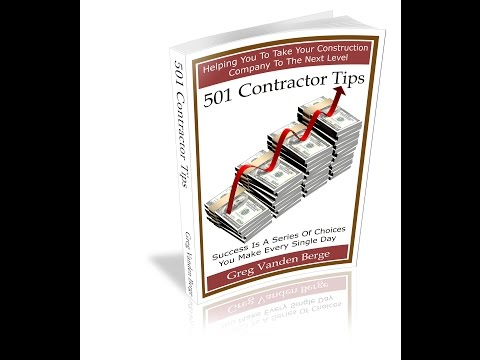 Wealth Reprogramming Tips for Contractors - Helping Construction Professionals Make Money