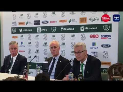Mick McCarthy talks about Robbie Keane's coaching role