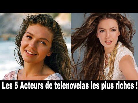 Les 5 Acteurs de telenovelas les plus riches !