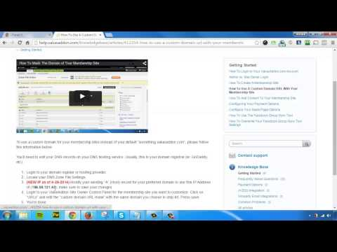 Value Addon Review - How To Make Your Membership Site To a Sub Domain