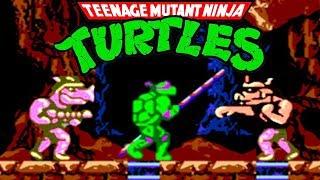 Teenage Mutant Ninja Turtles (Черепашки Ниндзя) прохождение (NES, Famicom, Dendy)